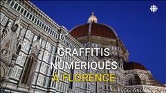 Graffitis numériques à Florence