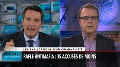 Rafle antimafia : 35 accusés de moins