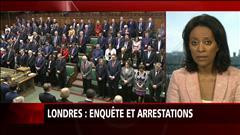 Londres : enquête et arrestations