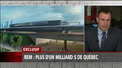 REM : Québec investira plus de 1 milliard $