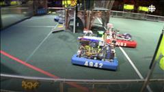 Une compétition robotique à Montréal