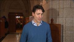 Justin Trudeau estime que malgré de la dissidence, le caucus est plus uni que jamais