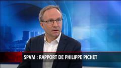 SPVM : Rapport de P. Pichet