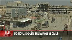 Des centaines de civils tués à Mossoul