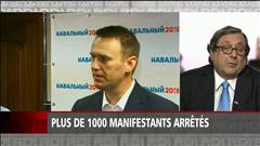 Plus de 1000 opposants arrêtés en Russie