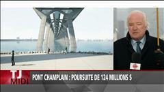 Pont Champlain : poursuite de 124 millions $