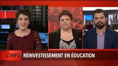 Budget Leitao : les professionnels en éducation se réjouissent