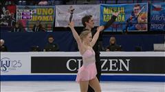 Julianne Séguin et Charlie Bilodeau ont patiné un très beau programme libre aux mondiaux