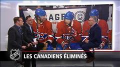 Les Canadiens éliminés du tableau éliminatoire
