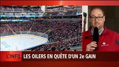 Les Oilers en quête d'un deuxième gain