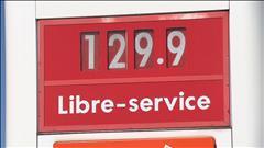 Flambée du prix de l'essence