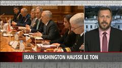 Washington hausse le ton envers Téhéran