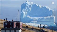 Un iceberg au large de Terre-Neuve