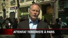 Attentat à Paris : un suspect se rend