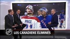 Les Canadiens de Montréal éliminés