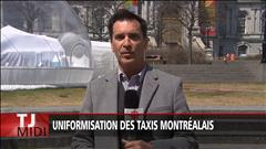 Uniformisation des taxis Montréalais