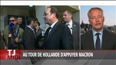 Au tour de Hollande d'appuyer Macron