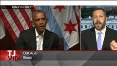 Première apparition de Barack Obama