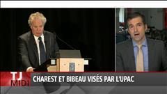 Charest et Bibeau visés par l'UPAC