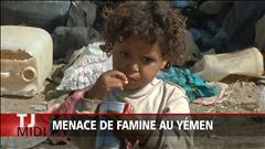 Menace de famine au Yémen
