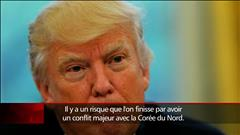 Vives tensions entre Washington et Pyongyang