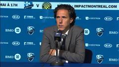 Mauro Biello discute de la défaite de l'Impact de Montréal