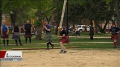 Regina : une Franco-Manitobaine aux Highland Games