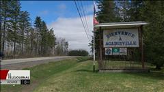 Entre Miramichi et Moncton, on serait la plus grande communauté rurale dans cette région là