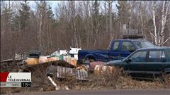 Terrains de ferraille illégaux au Nouveau-Brunswick
