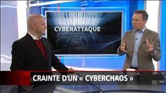 Crainte d'un «cyberchaos»
