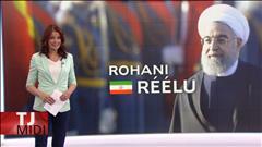 Rohani réélu à la tête de l'Iran