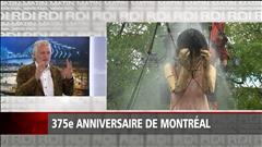 Les géants envahissent Montréal