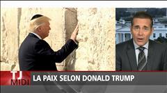 Donald Trump et le processus de paix en Israël