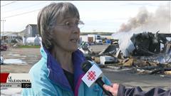 Incendie : Miscou consternée par la destruction de son usine
