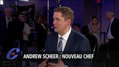 Entrevue avec le nouveau chef du Parti conservateur du Canada, Andrew Scheer