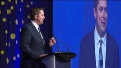 Andrew Scheer élu chef du Parti conservateur du Canada
