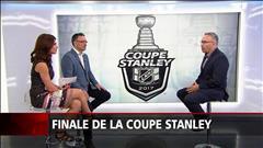 La finale de la Coupe Stanley