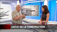 L'actualité vue par Réjean Parent : grève dans la construction