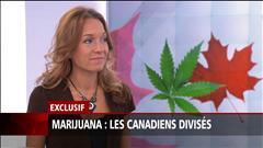 Marijuana : les Canadiens divisés