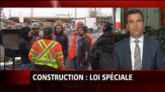 Construction : loi spéciale