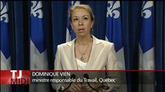 Construction : Québec dépose son projet de loi spéciale
