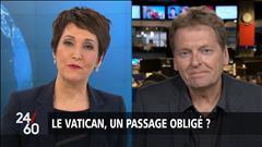Visite de Justin Trudeau au Vatican