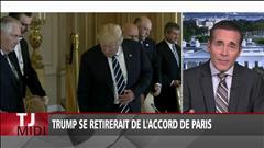Trump se retirerait de l'Accord de Paris