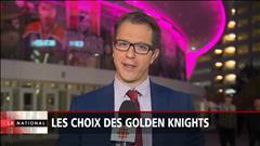 Les choix des Golden Knights de Vegas sont maintenant connus