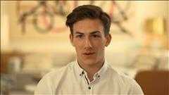 Entrevue avec l'espoir Antoine Morand