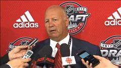 L'entraîneur-chef du Canadien Claude Julien