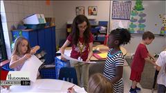 La fin d'année d'une enseignante dans un nouveau système scolaire.