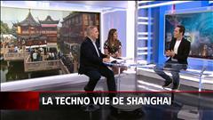 La techno vue de Shanghai