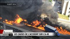 Les causes de l'accident sur l'A-40