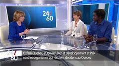 Boucar Diouf et Françoise David lancent un cri à l'aide